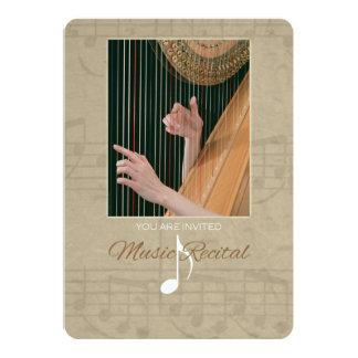 Convite do considerando da música do Harpist