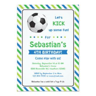 Convite do convite do futebol/aniversário do