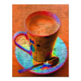 Convite do copo de chá
