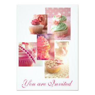 Convite do cupcake
