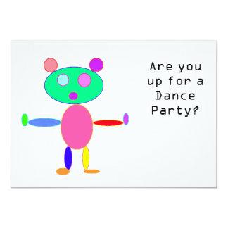 Convite do dance party
