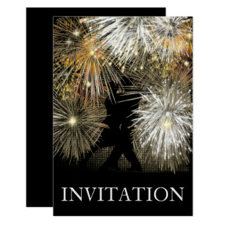 Convite do dance party do carnaval da bola do