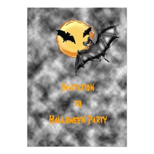 Convite do Dia das Bruxas #2