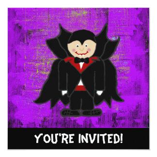Convite do Dia das Bruxas do vampiro