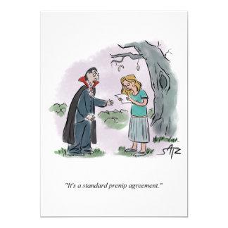 Convite do Dia das Bruxas engraçado