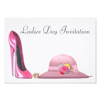 Convite do dia de senhoras convite 12.7 x 17.78cm