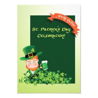 Convite do dia de St Patrick