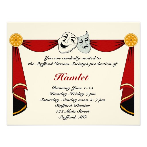 Convite do drama e do teatro