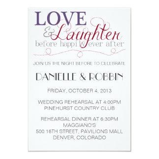 Convite do ensaio do amor & do riso
