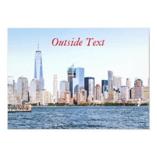 Convite do esboço da cor do Lower Manhattan