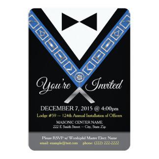 Convite do Freemason - jóia maçónica do escritório