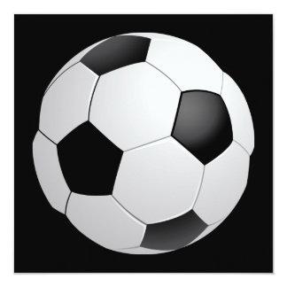 Convite do futebol do futebol