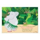 Convite do hipopótamo da dança