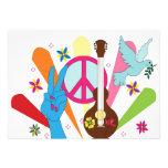 convite do hippie