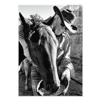 Convite do Hoedown do vaqueiro