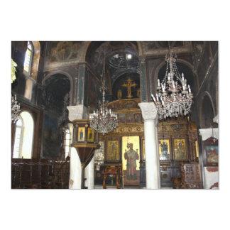 Convite do interior da igreja