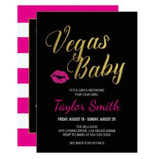 Convite do itinerário de Vegas