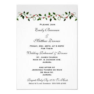 Convite do jantar de ensaio do casamento do
