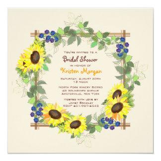 Convite do jardim do verão