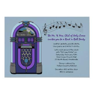 Convite do jukebox