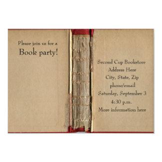 Convite do livro velho
