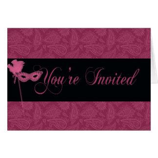 Convite do mascarada - 2
