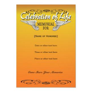 Convite do memorial do motociclista