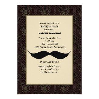 Convite do Moustache