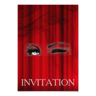 Convite do Musical da operação do teatro de