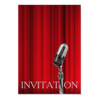 Convite do Musical da operação do teatro de Monroe