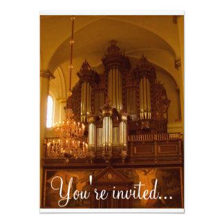 Convite do órgão de tubulação