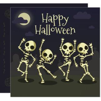 Convite do partido | do traje dos esqueletos da