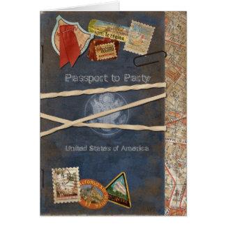 Convite do passaporte