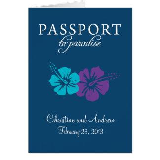Convite do passaporte de Florida da ilha de Marco