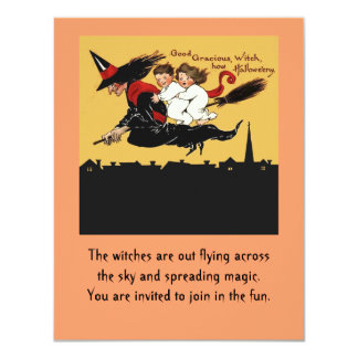 convite do passeio da bruxa