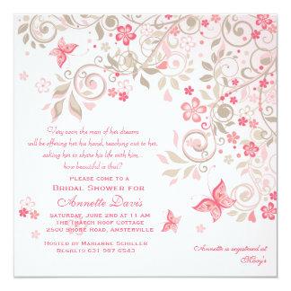 Convite do prado da borboleta