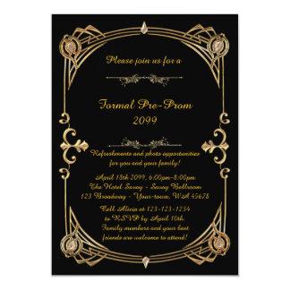 Convite do Pre-Baile de formatura, pre baile de