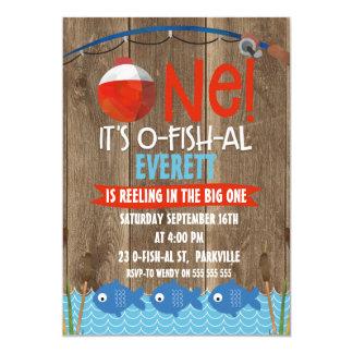 Convite do primeiro aniversario do O-peixe-al do