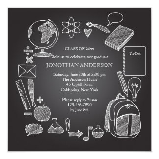 Convite do quadro da escola