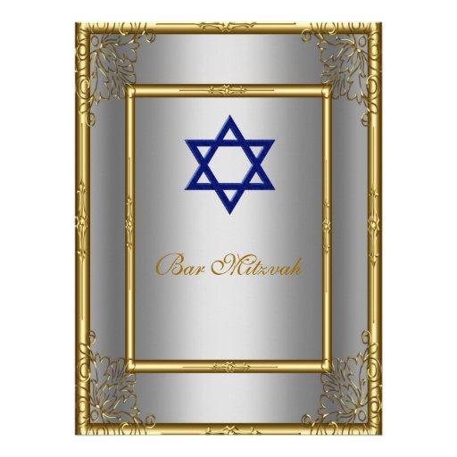 Convite do serviço de Mitzvah do bar