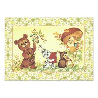 Convite do urso de ursinho - convide seus