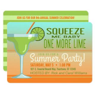 Convite do verão | Cinco de Mayo de Margarita