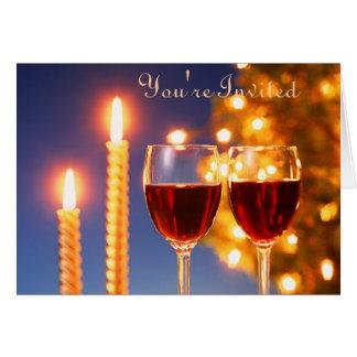 Convite do vinho e da vela