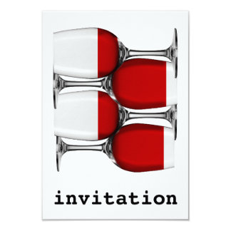 Convite do vinho tinto