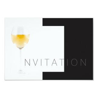 Convite do Vip do convite do cocktail do vinho