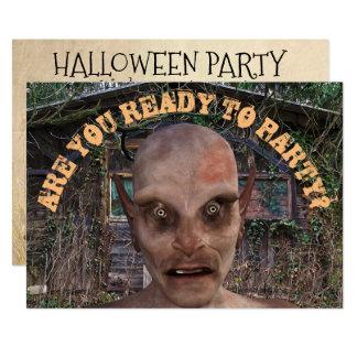 Convite do zombi do partido do Dia das Bruxas