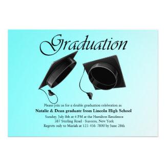 Convite dobro da graduação