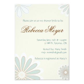 Convite doce da flor