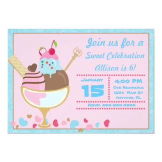 Convite doce da loja