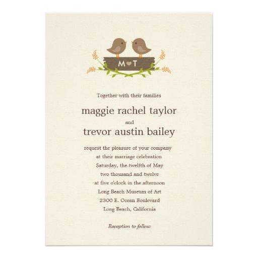 Convite doce do casamento do amor